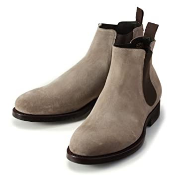 Chelsea Boot (Edward) 830037: Alpaca Suede