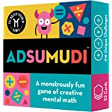 Adsumudi Math Game - The Monstrously Fun, Smart Game for Kids to Practice Multiplication, Division, Addition and Subtraction