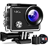 """APEMAN Action Camera A77, 4K WiFi 20MP Waterproof Underwater Camera Ultra Full HD Sport Cam 30M Diving with 2"""" LCD 170 Degree"""