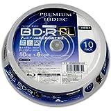 HIDISC 6倍速対応BD-R DL 10枚パック50GB ホワイトプリンタブルハイディスク HDVBR50RP10S…