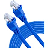 GE High Speed Modem Internet Cable, 14 Foot, RJ11 Ethernet, Phone Line Networking, cm Rated for in-Wall Use, Blue, 35288