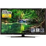 GrandLine LED液晶テレビ 39V型 地上・BS・110度CSデジタル 外付けHDD録画機能 HDMI端子2系統 GL-C39WS03 ブラック A-Stage