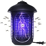 VANELC Bug Zapper, Insect Fly Trap, Mosquito Killer Waterproof for Indoor & Outdoor - Electronic Light Bulb Lamp for Backyard