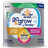 Go & Grow by Similac Toddler Drink with 2'-FL HMO for Immune Support, with 25 Key Nutrients to Help Balance Toddler Nutrition