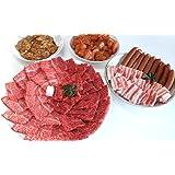 【肉のひぐち】飛騨牛 ・ 国産 豚肉 ・ 国産 若鶏肉 ・ 国産 豚 ホルモン ・ 明宝フランク バーベキューセット 総重量 2.1kg 8~10人分 牛肉 豚肉 ホルモン フランク セット BBQ キャンプ おうち焼肉 などに 冷凍でお届け致します