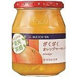 明治屋 果実実感ジャムざくざくオレンジマーマレード 340g