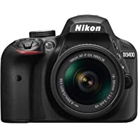 Nikon D3400 Digital SLR Camera, blk