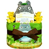 おむつケーキ となりのトトロ 豪華ウォッシュタオルセット (パンパースS20 (出産祝い用に))