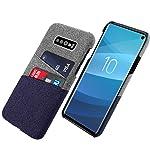 Samsung Galaxy S10e アンチスクラッチ シェル, Moonmini ウルトラ スリム 合う キャリーケース アンチスクラッチ フル 保護 カバー の Samsung Galaxy S10e Blue
