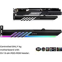 Novonest 汎用ビデオカードホルダー GPUブレースサポート グラフィックカードを固定する ARGB LEDライト…