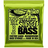 Ernie Ball P02832 Regular Slinky Nickel Wound Bass Set.050 - .105