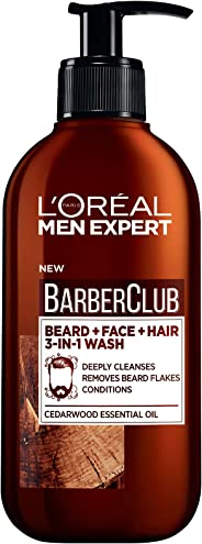 L'Oréal Paris Men Expert Barber Club 3-in-1 Beard + Face + Hair Wash 200ml