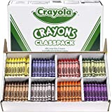 Crayola 400 Large Crayon Classpack, 8 Assorted Bright Colors, Share Among The Classroom, Perfect for Schools and Education, C