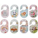 Hemobllo 8pcs Baby Closet Size Dividers Woodland Nursery Closet Dividers Size Age Hanger Organizers for Baby Clothes for Boy
