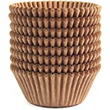 Eoonfirst Standard Size Baking Cups 200 Pcs (Natural)
