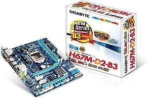 GIGABYTE intel H67 B3ステッピング LGA1155 GA-H67M-D2-B3