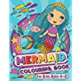 Mermaid Colouring Book: For Kids Ages 4-8 (UK Edition)