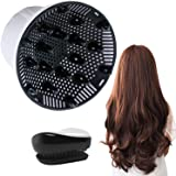 Hair Diffuser, Universal Hair Diffuser for Hair Dryer, Hair Dryer Diffuser Suitable for 1.4-inch to 2.6-inch Blow Dry, Profes