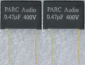 フィルムコンデンサー(0.47uF) 2個セット DCP-FC003-047-2