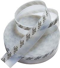 Yardsky すき間風防止テープ 隙間 テープ 25mm 透明 防水 防塵 防風 ドア 窓 お風呂 すきま(10m)