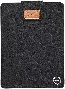 Essential(エッセンシャル)Macbook Air 13.3用スエードプロテクターケース ブラウン グレー ライトグレー (グレー)