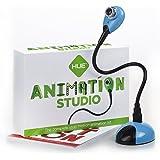 HUE Animation Studio ストップモーション・アニメーション・セット コマ撮りソフト・カメラ付き(Windows対応)(ブルー)