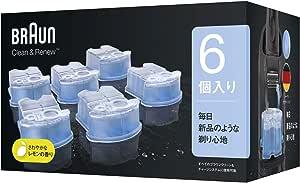 【99.9%除菌】ブラウン アルコール洗浄液 (6個入) メンズシェーバー用 CCR6 CR[正規品]