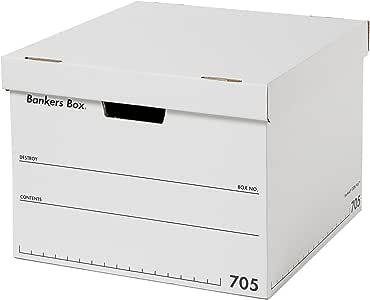 フェローズ バンカーズボックス 新705 B4サイズ 黒 3枚1セット 収納ボックス ふた付き 1010101
