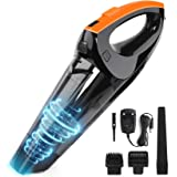 VACPOWER Handheld Vacuum Cleaner Cordless, Portable Hand Vacuum Powered by Li-ion Battery Rechargeable Quick Charge Tech, Min