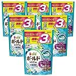 【ケース販売】ボールド 洗濯洗剤 ジェルボール3D 爽やかプレミアムクリーンの香り 詰め替え ウルトラジャンボサイズ 52個×6個