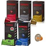 ネスプレッソ カプセル 互換 キンボ コーヒー 5種×1箱 各10カプセル 合計50 カプセル kimbo