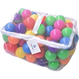 Wonder Space Soft Pit Balls, Smooth Crush-Proof Plastic Ocean Ball, Phthalate & BPA Chemicals Free with No Smell, Safe for To