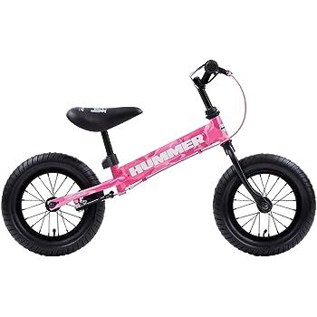 HUMMER(ハマー) TRAINEE BIKE 12.5インチ 幼児/子供用トレーニングキックバイク 【専用スタンド付き】 安定のある極太タイヤ搭載 後輪ブレーキ付 13028