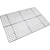 Checkered Chef Cooling Rack Baking Rack. Stainless Steel Oven and Dishwasher Safe. Fits Half Sheet Cookie Pan