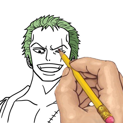 Amazon Co Jp How To Draw One Piece Anime Manga Characters Apps For Android