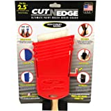 Cut-N-Edge : Ultimate Paint Brush Edger and Guard (1, red), Multi-Purpose 6 in 1 Tool