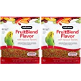 ZuPreem FruitBlend Flavor Pellets Bird Food for Small Birds - Powerful Pellets Made in USA, Naturally Flavored for Parakeets,