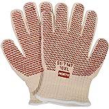 Honeywell North Grip N Hot Mill Nitrile Coated Men's Heat-Resistant Gloves, 7 gauge, Large (RWS-57001)