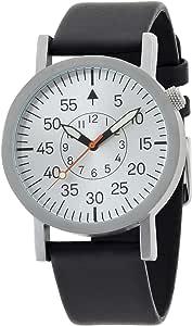[タイムスタジオストックホルム]Time Studio Stockholm 腕時計 Militara Silver MIL-38Silver 【正規輸入品】