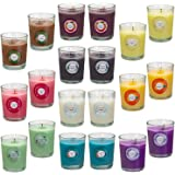 Scented Candles, Anxiety Reducer Jasmine, Rose, Vanilla, Bergamot, fig, Lavender, Lemon, Spring,Strawberry, Rosemary, Aromath