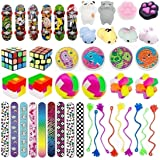 44 Pc Party Favor Toy Assortment for Kids Party Favor, Birthday Party, School Classroom Rewards, Carnival Prizes, Pinata Fill