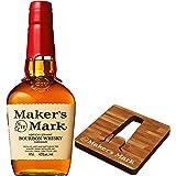 バーボン メーカーズマーク 700ml瓶 非売品オリジナル木製コースター付 [ ウイスキー アメリカ ] [ギフトBox入り]