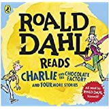 Roald Dahl Audio Collection AUDIO CD x4: Includes Charlie and the Chocolate Factory, James and the Giant Peach, Fantastic Mr.