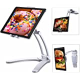Tablet Stand for iPad, Tendak 2-in-1 Tablet Mount Stand/Kitchen Tablet Wall Mount Holder for 5-12.9 Inch Tablets/iPad Pro/Air