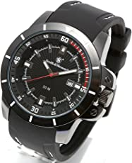 [Smith & Wesson]スミス&ウェッソン ミリタリー腕時計 TROOPER WATCH WHITE/BLACK SWW-397-WH [正規品]