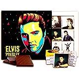 DA CHOCOLATE set Elvis Presley キャンディスーベニアエルビスプレスリーチョコレートセット13x13 cm 1箱 (Prime 3534)