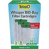 Tetra Whisper Bio-Bag Disposable Filter Cartridges 3 Count, For aquariums, Medium (26169)