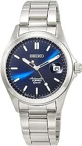 [セイコーウォッチ] 腕時計 メカニカル Mechanical(メカニカル) NET流通専用モデル クラシックライン 自動巻(手巻つき) 日本製 裏ぶたシースルーバック 日常生活用強化防水(10気圧) SZSB016 メンズ シルバー
