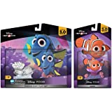 Disney Infinity 3.0 Finding Dory Themed Bundle - Finding Dory Playset and Nemo Figures