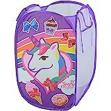 Disney JoJo Siwa Pop Up Laundry Bin, Purple
